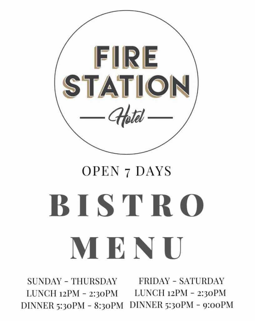 Food Menu - The Fire Station Hotel Wallsend, NSW